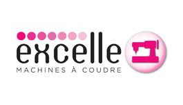 Logo for the brand Excelle Machines à Coudre